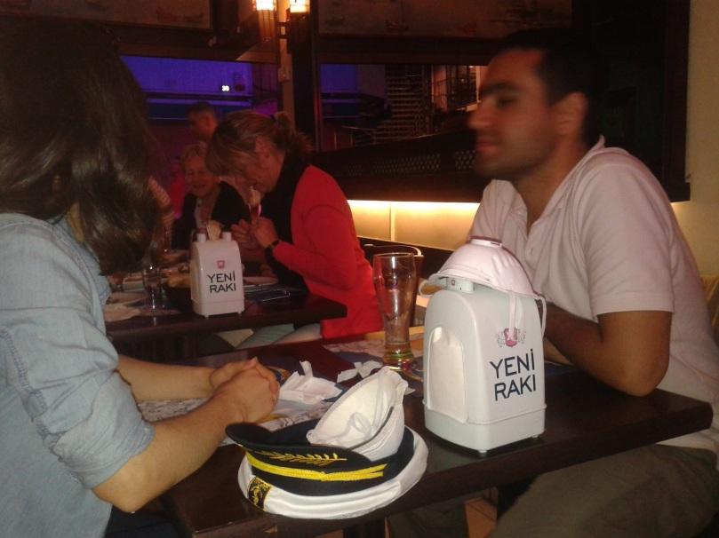 Abendessen in Kadiköy