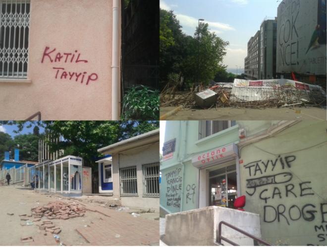 Auf dem Weg zum Taksim
