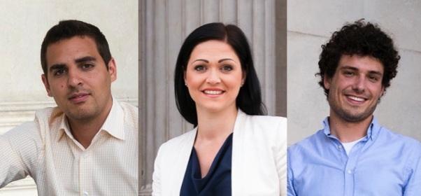 Asdin El Habbassi, Daniela Holzinger, Julian Schmid (Fotos: Hans Hochstöger)