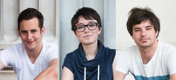 Lukas Schnitzer, Sigrid Maurer, Wolfgang Moitzi (Fotos: Hans Hochstöger)